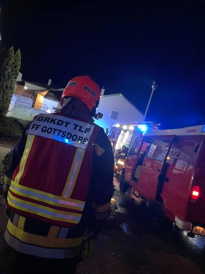 Wohnungsbrand Marbach